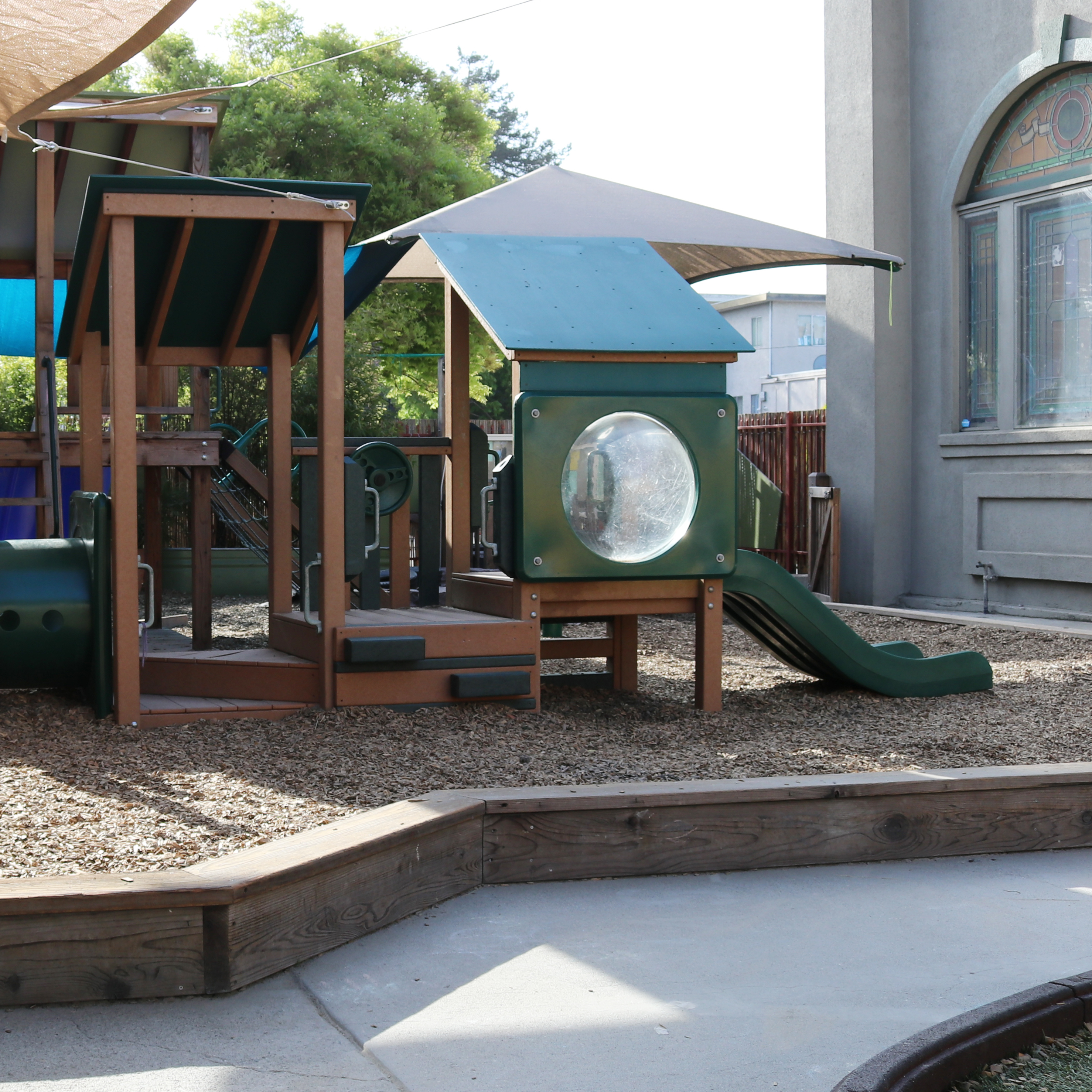 Play structure at Telegraph